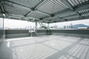 屋上:避難タワー(内観)