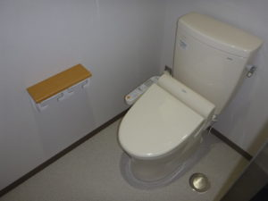 従業員用洋式トイレ設置完了