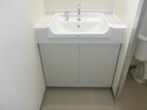 従業員用トイレ施工完了