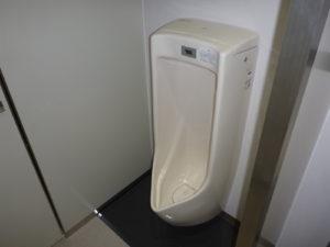従業員用トイレ設置完了