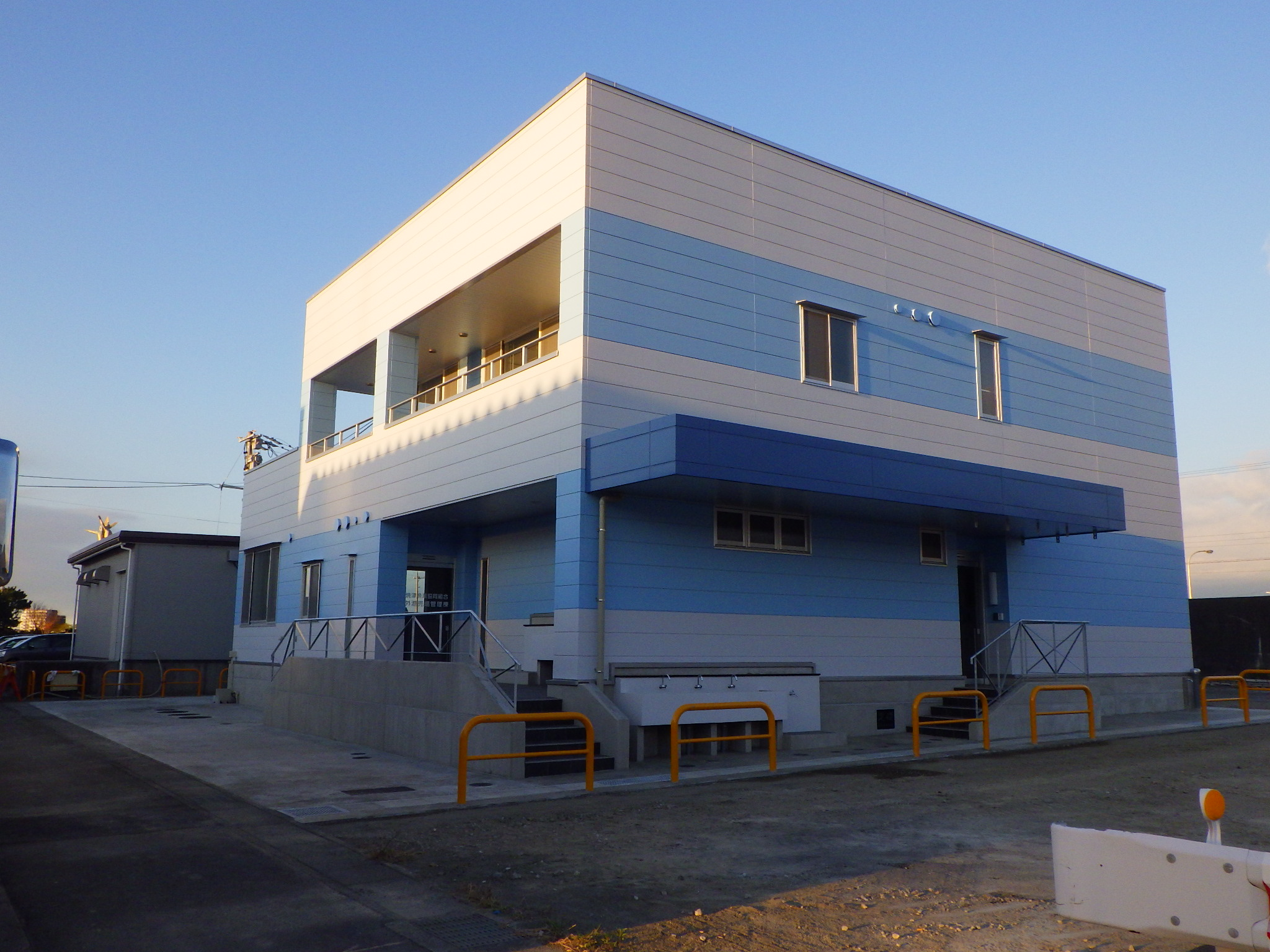 焼津漁港管理棟 外観