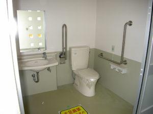多目的トイレ設置完了