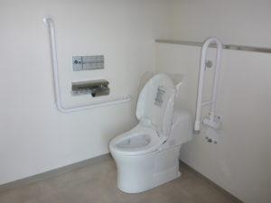お客様用トイレ施工完了