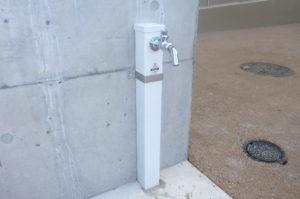 屋外散水栓設置完了