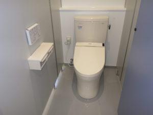 従業員トイレ設置完了
